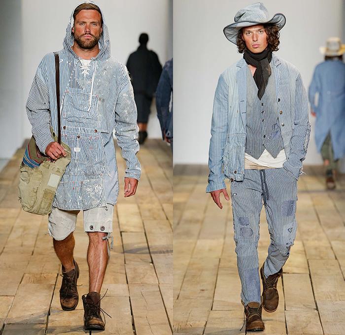 http://www.denimjeansobserver.com/mag/2015/07/16/greg-lauren-2016-spring-summer-new-york-fashion-week-mens-huck-finn-burlap-vintage-patchwork-poncho-jumpsuit-cargo-denim-jeans-observer/